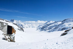 зона jungfrau Стоковая Фотография RF