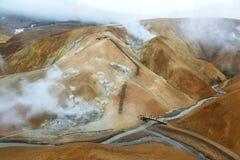 Зона Kerlingarfjoll геотермическая, Исландия Стоковые Фотографии RF