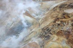 Зона Kerlingarfjoll геотермическая, Исландия Стоковые Изображения