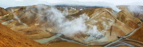 Зона Kerlingarfjoll геотермическая, Исландия Стоковое Изображение RF