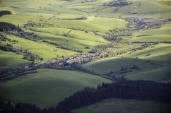 Зона Liptov в Словакии Стоковые Изображения RF