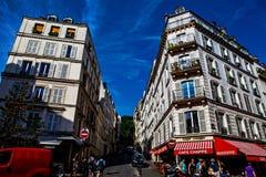 Зона Montematre в Париже Стоковые Фотографии RF
