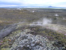 Зона Myvatn озера Стоковые Фотографии RF