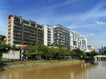 Зона Riparian в Сингапуре стоковая фотография