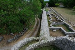 Зона sepino археологии стоковое изображение rf