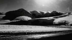 зона su горы озера gorge elbrus caucasus adyr Стоковое Изображение RF