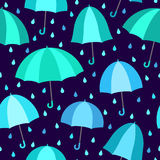 зонтики картины безшовные Стоковое Фото