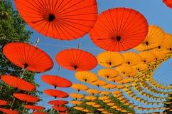 Зонтики Чиангмая 5 Стоковое Изображение