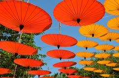 Зонтики Чиангмая 4 Стоковое фото RF