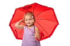 зонтик вниз Стоковая Фотография RF