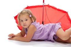 зонтик вниз Стоковое фото RF
