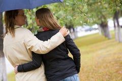 зонтик вниз Стоковые Изображения RF