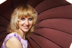 зонтик вниз Стоковые Фото