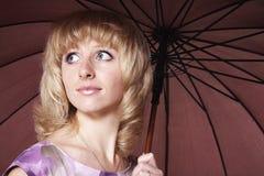 зонтик вниз Стоковое Изображение