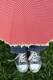 зонтик вниз Стоковые Фотографии RF
