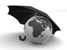 зонтик земли иллюстрация вектора