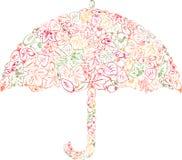 Зонтик листьев Стоковые Изображения