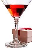 зонтик красного цвета коктеила Стоковая Фотография RF