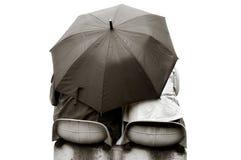 зонтик любовников вниз Стоковое фото RF