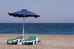 зонтик неба сини одного Стоковое фото RF
