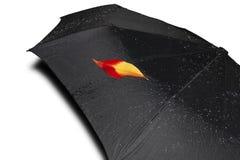 Зонтик осени Стоковое Изображение