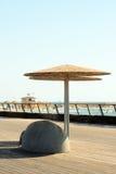 зонтик палубы Стоковая Фотография
