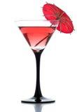 зонтик питья коктеила Стоковые Изображения