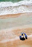 зонтик пляжа Стоковое Изображение RF
