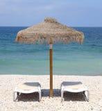 зонтик пляжа Стоковое Изображение