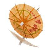 зонтик померанца коктеила Стоковые Фото