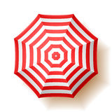зонтик праздника принципиальной схемы пляжа Стоковая Фотография