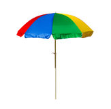 зонтик праздника принципиальной схемы пляжа Стоковое Изображение