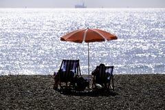 зонтик праздника принципиальной схемы пляжа Стоковые Изображения