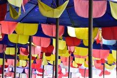 зонтик праздника принципиальной схемы пляжа Стоковое Изображение RF