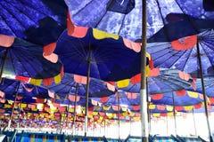 зонтик праздника принципиальной схемы пляжа Стоковое фото RF