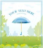зонтик предпосылки осени Стоковая Фотография