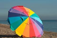 Зонтик пляжа Стоковые Изображения RF