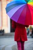 зонтик радуги Стоковые Изображения RF