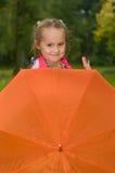 зонтик ребенка Стоковые Фото