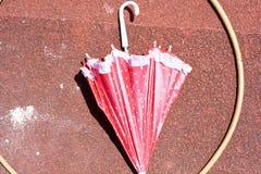 Зонтик след с обручем hula для деятельности при preschool Стоковое фото RF
