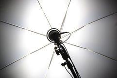 зонтик съемки установленный вверх Стоковая Фотография