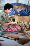 зонтик фабрики Стоковое Изображение RF