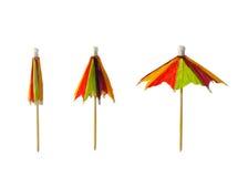 зонтик цвета коктеила Стоковое Изображение RF