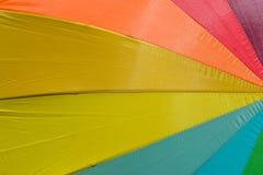 Зонтик цвета радуги Стоковая Фотография