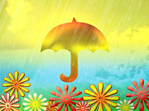 Зонтик Стоковое Изображение
