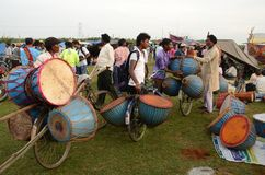 Зонтик Chata Parab справедливый стоковая фотография