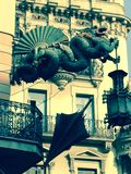 Зонтик Drangon Стоковое Изображение RF