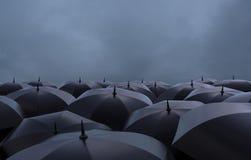 Зонты иллюстрация вектора