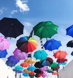 Зонты Стоковое Фото