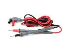 2 зонда для цифрового изолированного вольтамперомметра Стоковая Фотография RF